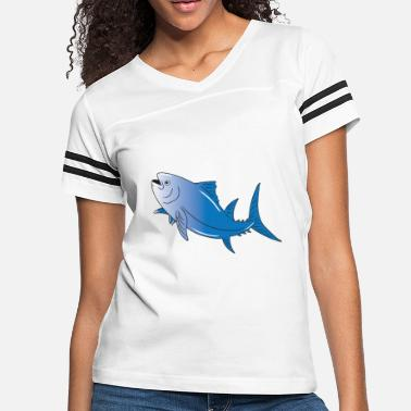 Just Fish Tuna Fishing Fisher Lovers Bluefin Funny Cute Gift - Women's Vintage Sport T-Shirt