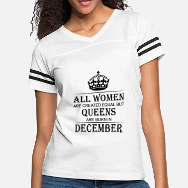 December Birthday Women December - Women's Vintage Sport T-Shirt