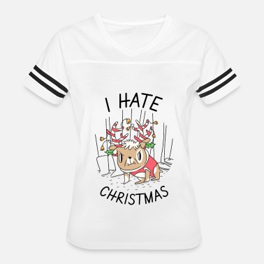 I Hate Xmas I hate Christmas - Women's Vintage Sport T-Shirt