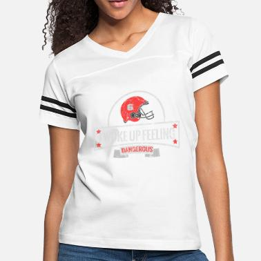 Baker Dangerous Baker Football Brown Mayfield - Women's Vintage Sport T-Shirt