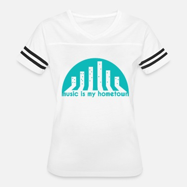 Hometown Home Music Hometown - Women's Vintage Sport T-Shirt