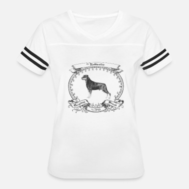 1800s The Rottweiler 1800 - Women's Vintage Sport T-Shirt