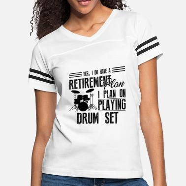 Drum Set Clothes Drum Set Shirt - I Plan On Playing Drum Set Tshirt -  Women . Women s Vintage ... 780dd2579