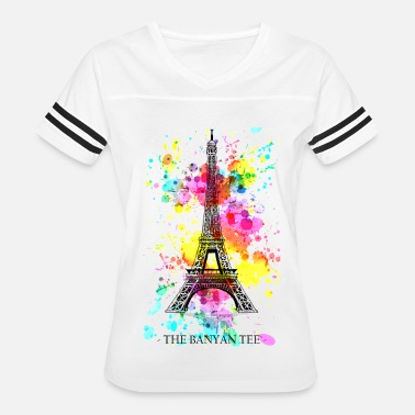 Eiffel Tower Eiffel Tower - Women's Vintage Sport T-Shirt