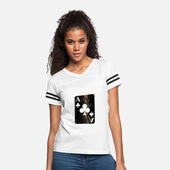 Family T-Shirts - Aced - Women's Vintage Sport T-Shirt white/black