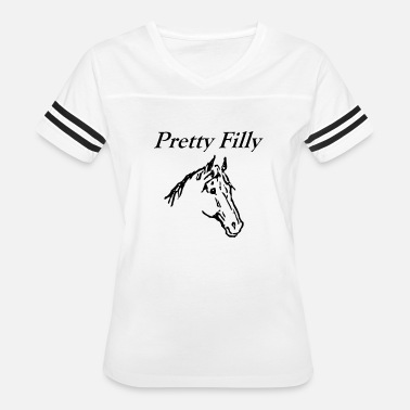 Filly Pretty Filly - Women's Vintage Sport T-Shirt