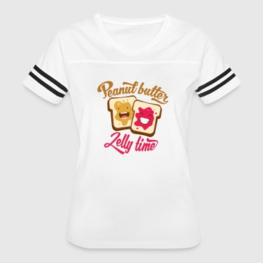 Peanut Butter Jelly Time - Women's Vintage Sport T-Shirt