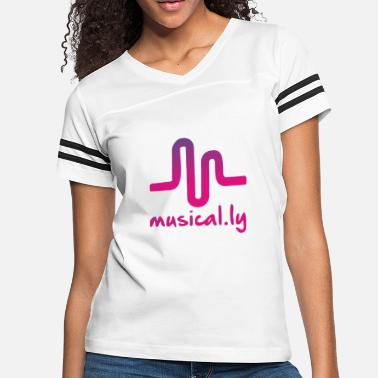 Music Symbols musical Funny symbol music - Women's Vintage Sport T-Shirt