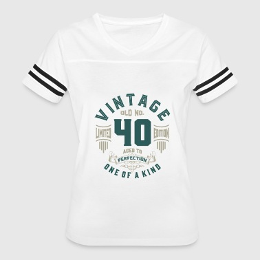 Old No. 40 Aged To Perfection - Women's Vintage Sport T-Shirt