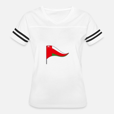 Muscat Oman Muscat Arabian Flag Banner Flags Ensigns - Women's Vintage Sport T-Shirt