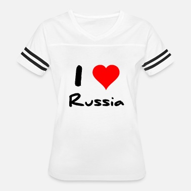 I Love Russia I love Russia - Women's Vintage Sport T-Shirt