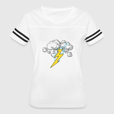 Thunder and Lightning - Women's Vintage Sport T-Shirt
