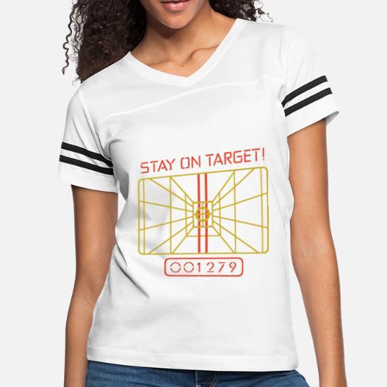 5e6808ec0 Front. Front. Back. Back. Design. Front. Front. Back. Design. Front. Front.  Back. Back. Tall T-Shirts - Stay On Target t shirt X WING COMPUTER STAR WARS  -