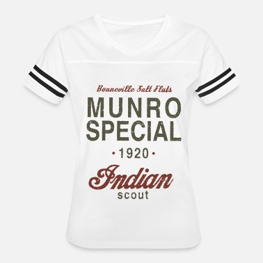 Specialized Mountain Bikes Munro Special 1920 Speed Record Indian Bike - Women's Vintage Sport T-Shirt