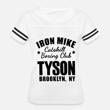 Iron Mike Iron mike catskill boxing club tyson brooklyn ny g - Women's Vintage Sport T-Shirt