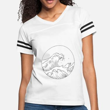 Waves Waves - Women's Vintage Sport T-Shirt