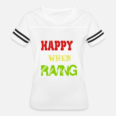 New Rave happy when raving - Women's Vintage Sport T-Shirt
