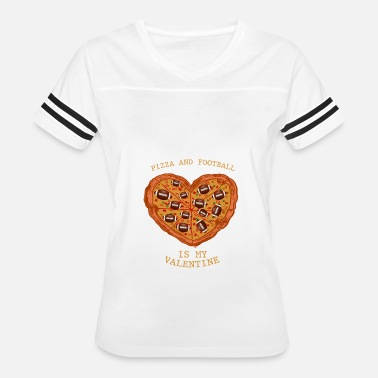 Anti Football Pizza&Football Anti Valentine's Day Gift - Women's Vintage Sport T-Shirt