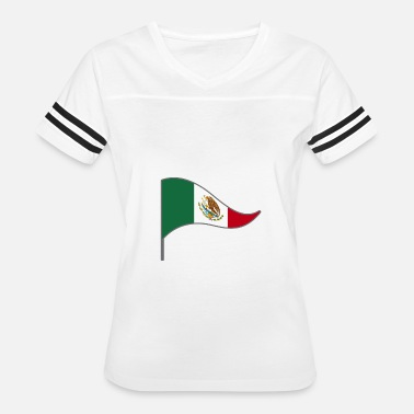 Flags Latinos Mexico Mexico City America Latino Flags Banner - Women's Vintage Sport T-Shirt