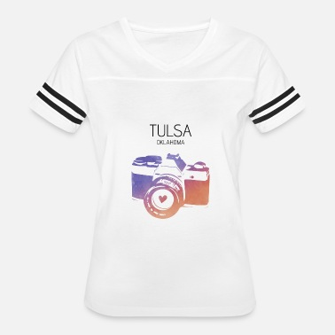 Tulsa City Camera Tulsa - Women's Vintage Sport T-Shirt