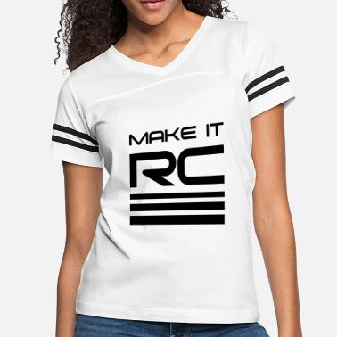 Make A Mess MAKE IT RC - Women's Vintage Sport T-Shirt