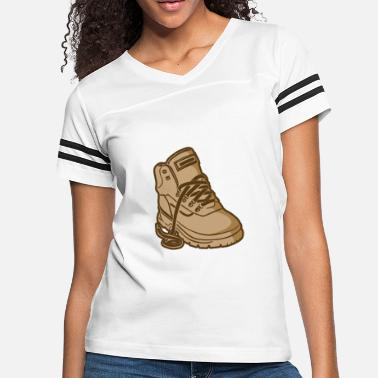 Cool Hiking Cool Hiking Boots Hikers - Women's Vintage Sport T-Shirt