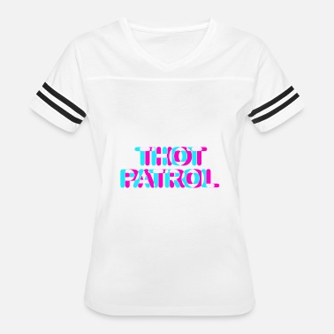 Thot Patrol Funny Meme Anaglyph 3D Style Gift Idea Women's