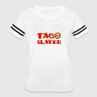 Funny Taco Lover Tee - Women's Vintage Sport T-Shirt