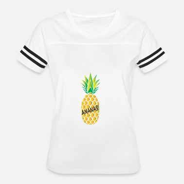 Yellow Pineapple pineapple - Women's Vintage Sport T-Shirt