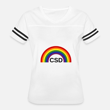 Christopher Street Day CSD Christopher Street Day Rainbow - Women's Vintage Sport T-Shirt