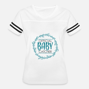 Ob Gyn Funny Midwife Doula OB GYN Delivery Baby Catcher - Women's Vintage Sport T-Shirt
