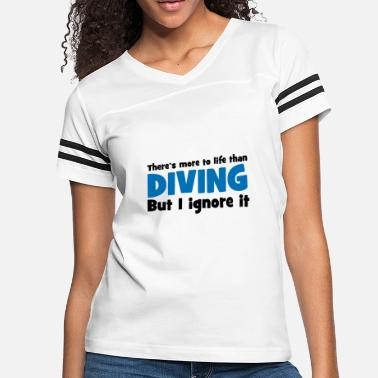 Scuba Scuba Diving - Women's Vintage Sport T-Shirt