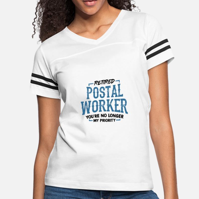 03b7462c76 Shop Postal Worker T-Shirts online   Spreadshirt