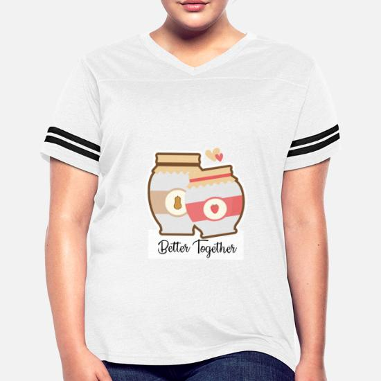 fc4e585a Front. Back. Back. Design. Front. Front. Back. Design. Front. Front. Back.  Back. Couples T-Shirts - Peanut Butter and Jelly Sandwich Couple Gift -  Women's ...