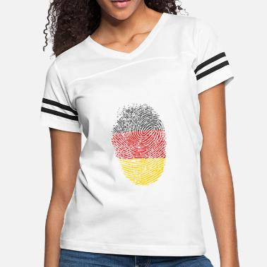 Flag Of Germany Germany flag - Women's Vintage Sport T-Shirt