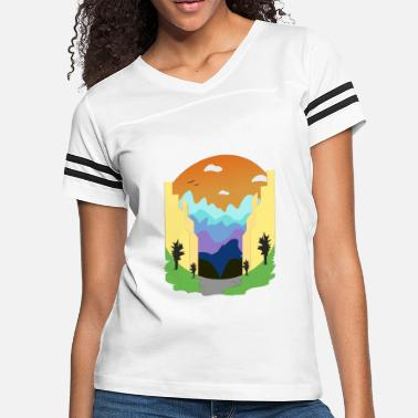 View City View - Women's Vintage Sport T-Shirt
