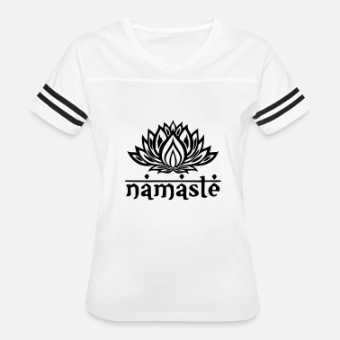 India New Age Namaste Lotus Flower - Women's Vintage Sport T-Shirt