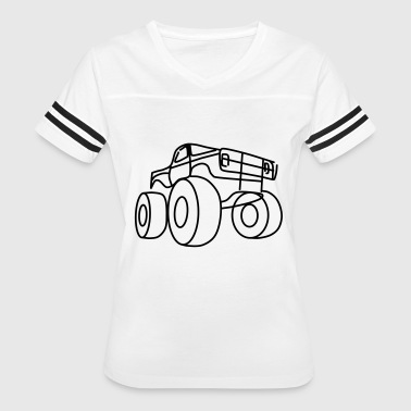 Monster truck - Women's Vintage Sport T-Shirt