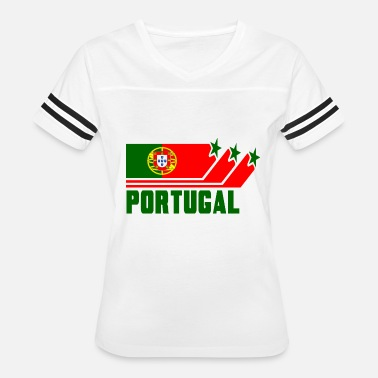 Portugal Designs Portugal Design with Flag - Women's Vintage Sport T-Shirt