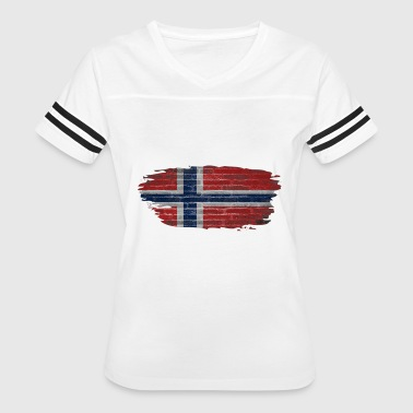 Norway Flag Norge Norway Flag - Women's Vintage Sport T-Shirt