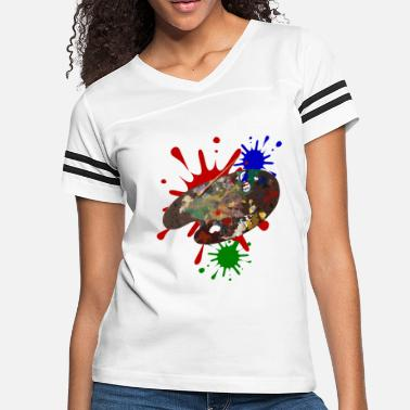 Painting Painting - Women's Vintage Sport T-Shirt