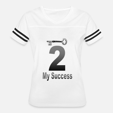 My Way All Day The key to my success - Women's Vintage Sport T-Shirt