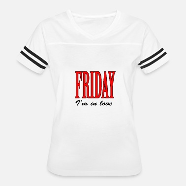 Love Fridays Friday I'm in love - Women's Vintage Sport T-Shirt