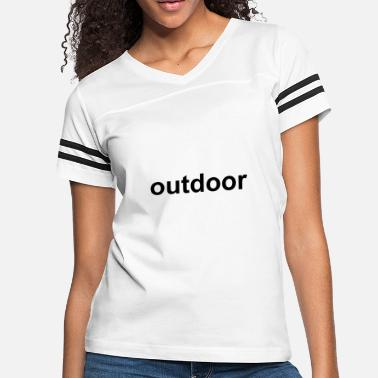 Outdoor Funny outdoor - Women's Vintage Sport T-Shirt