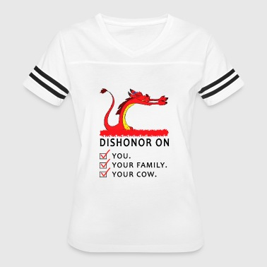 dishonor on - Women's Vintage Sport T-Shirt