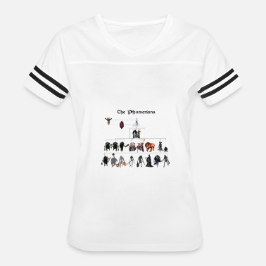 Bloodborne Bloodborne - The Pthumerians - Women's Vintage Sport T-Shirt