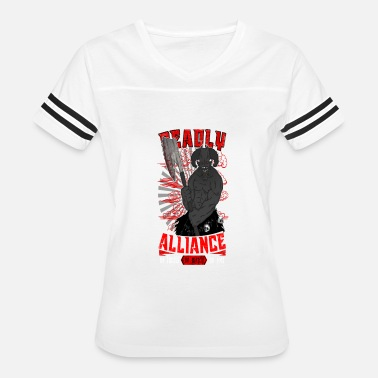 Horde DEADLY ALLIANCE - Women's Vintage Sport T-Shirt