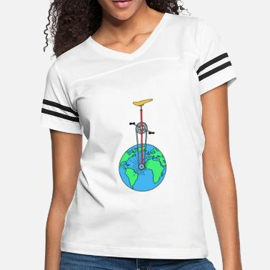 Eco The Eco Wheel - Women's Vintage Sport T-Shirt