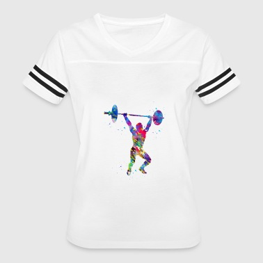 Weightlifting,Weightlifter - Women's Vintage Sport T-Shirt