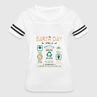 Earth Day Tips T-Shirt - Women's Vintage Sport T-Shirt